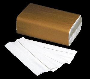 C-Fold Towel White 2400/bx - Safedent - dental supplies
