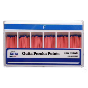 Gutta Percha Points-Vials-Meta-Dental Supplies