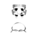 Ivory Rubber Dam Clamps - Heraeus Kulzer - Dental Supplies