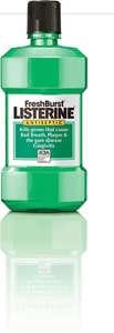Listerine  FreshBurst-J&J Consumer Products-Dental Supplies