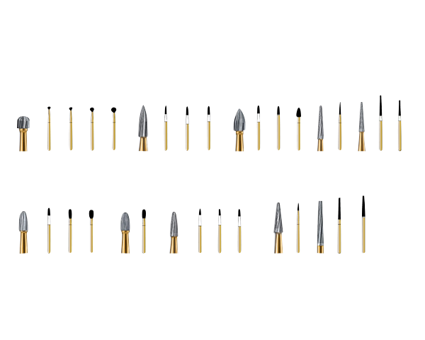 Midwest Type Trimming and Finishing Burs-Cargus-Dental Supplies