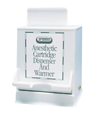Anesthetic Cartridge Dispenser & Warmer- Premier - dental supplies
