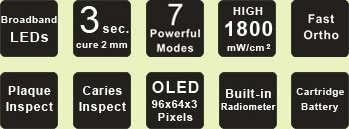 Picture of Ledex LED Curing Light & Caries Detector - Dentmate