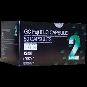 Fuji II-LC Caps-GI Restorative-48bx-GC America-Dental Supplies