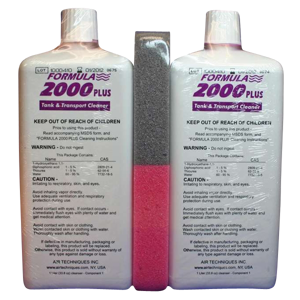 Formula 2000 Plus Cleaner-2pk-Air Techniques-Dental Supplies
