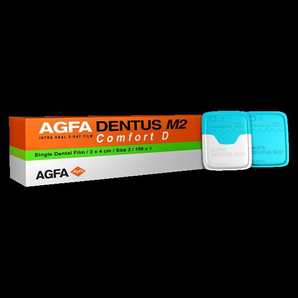 Agfa Film M2-D01 #01Pk 100/Bx - Heraeus Kulzer - Dental Supplies