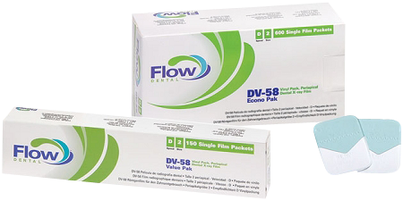 DV-58 Film #2-Intraoral X-Ray Film-Flow X-Ray-Dental Supplies