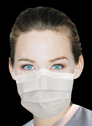 Ultra Sensitive-Earloop Masks-White-50/Bx-Crosstex-Dental Supplies