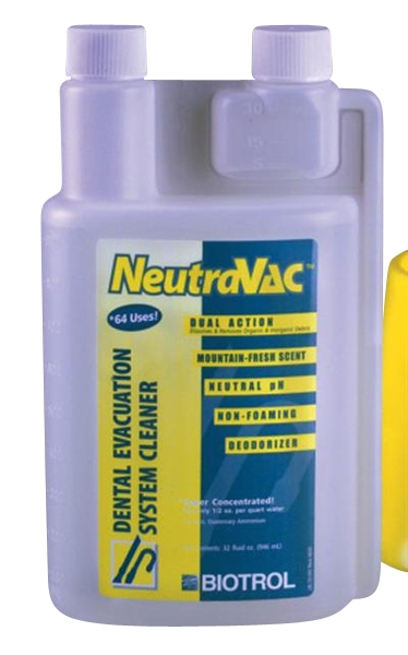 NeutraVac-Evacuation Cleaner-Biotrol-Dental Supplies