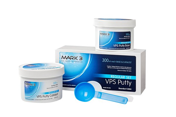 MARK3 VPS Putty-Impression Material-Full Set-Mark3-Dental Supplies