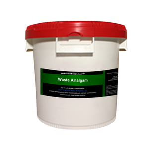 Medentotainer Amalgam Waste Container-Lg-Medentex-Dental Supplies