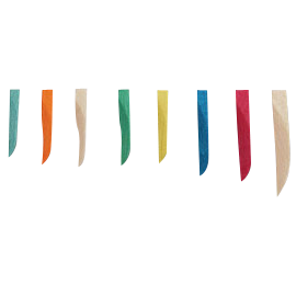 Sycamore Wedges-Assorted-400/Bx-Premier Dental-Dental Supplies