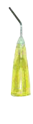Picture of Pre-Bent Needle Tips Yellow 20gage 100/Pk - MARK3