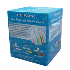 Micro Applicators-Disposable-400/pk-Unipak-Dental Supplies