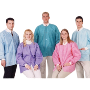 Extra-Safe- Hip Length Jackets-10pk-Valumax-Dental Supplies