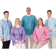 Picture of Extra-Safe Hip Length Jackets Ceil Blue Small 10/pk - Valumax
