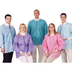 Picture of Extra-Safe Hip Length Jackets Teal Large 10/pk - Valumax