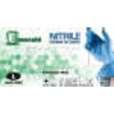Picture of Emerald Nitrile Powder Free Gloves Medium 100/bx