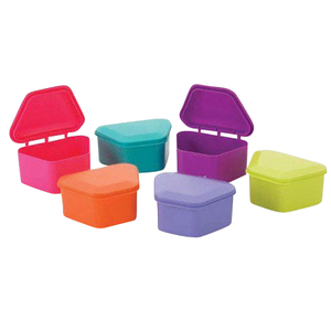 "Denture Storage Boxes Assorted 1-3/4"" Deep - UniPack - dental supplies"