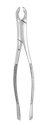 Picture of Extracting Forceps #17 Lower 1st and 2nd Molar, Universal, Straight Handle - J&J Instruments