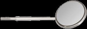 Front Surface C.S. #5 Mirrors Chromium Coating - 12/pk. - J&J Instruments-Dental Supplies