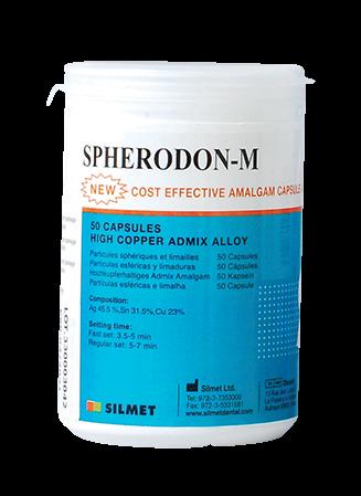 Spherodon M-50pk-amalgam-Silmet-Dental Supplies