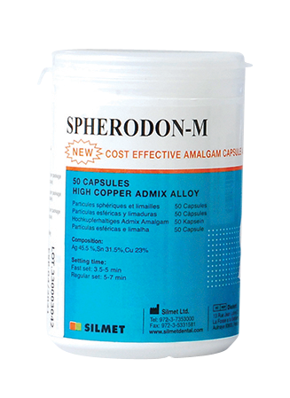 Spherodon M-50pk-amalgam-Silmet-Dental Supplies