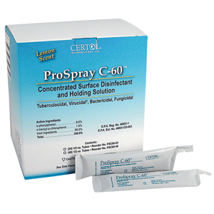 ProSpray C-60-Disinfectant-Certol International-Dental Supplies