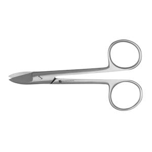 12-020-Crown Scissors 4.5 inch-Curved-J&J Instruments.jpg