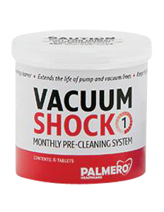 Vacuum Shock Tablets-6/Bt-Palmero-Dental Supplies