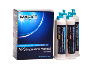VPS Impression Material Bulk-100pk-MARK3-Dental Supplies