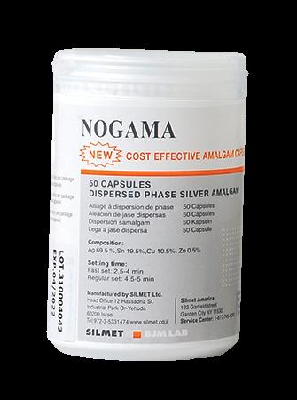 Nogama-Dental Amalgam-50 pack-Silmet-Dental Supplies