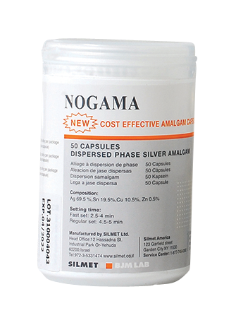 Nogama-Dental Amalgam-50 pack-Silmet-Dental Supplies