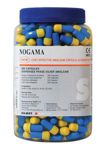 Nogama-amalgam-500 pack-Silmet-Dental Supplies
