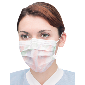 Extra-Safe-Earloop Masks-Multicolor-50/bx-Valumax-Dental Supplies