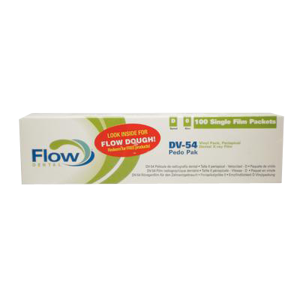 Film D #0-Pedo Pak-DV-54-100/Bx-Flow X-Ray-Dental Supplies