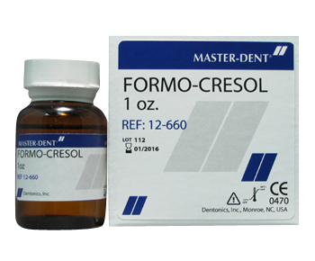 Formo Cresol |1oz| Master-Dent| Dental Supplies