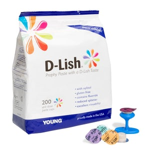 D-Lish Prophy Paste Young Dental - Dental Supplies