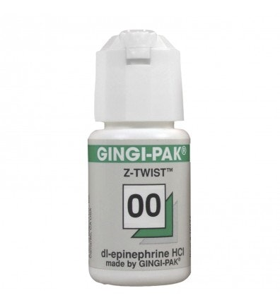 Gingi Pak Z Twist Retraction Cord w/Epinephrine - Dental Supplies
