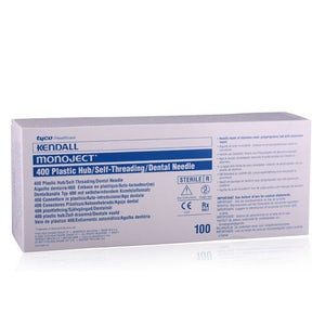 Monoject Dental Needles 100/bx - Kendall  - Dental supplies
