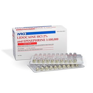 Lidocaine HCL 2%-Injection-Novocol-Dental Supplies
