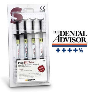 ProFil Flow Flowable Composite 4pk  - Silmet-Dental Supplies