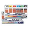 Gutta Percha Points Fine 120/pk - Meta