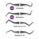 Implant Scaler - Premier Dental IMPLANT SCALER Facial (Goldman Fox) 5pk