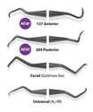 Implant Scaler - Premier Dental IMPLANT SCALER Universal (4L/4R) 2pk