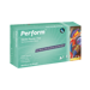 Perform Nitrile P/F Medium Gloves 200/bx - Aurelia