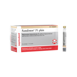scandonest-3-plain-50pk-septodont-Dental Supplies