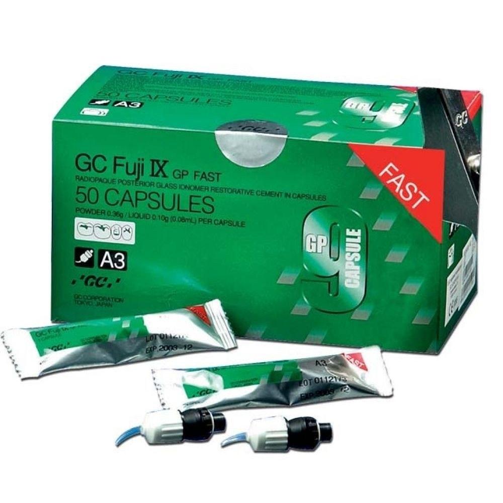 Fuji IX-GP Caps-Fast Set-48/bx-GC America-Dental Supplies