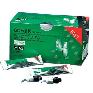 Fuji IX-GP Caps-Fast Set-48/bx-GC America-Dental Supplies