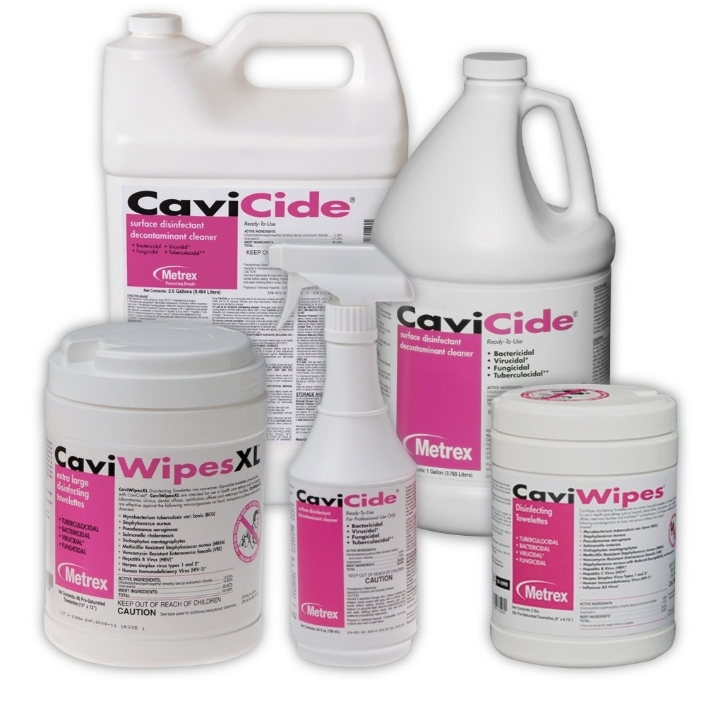 Cavicide-Disinfectant-Family-Metrex-Dental Supplies